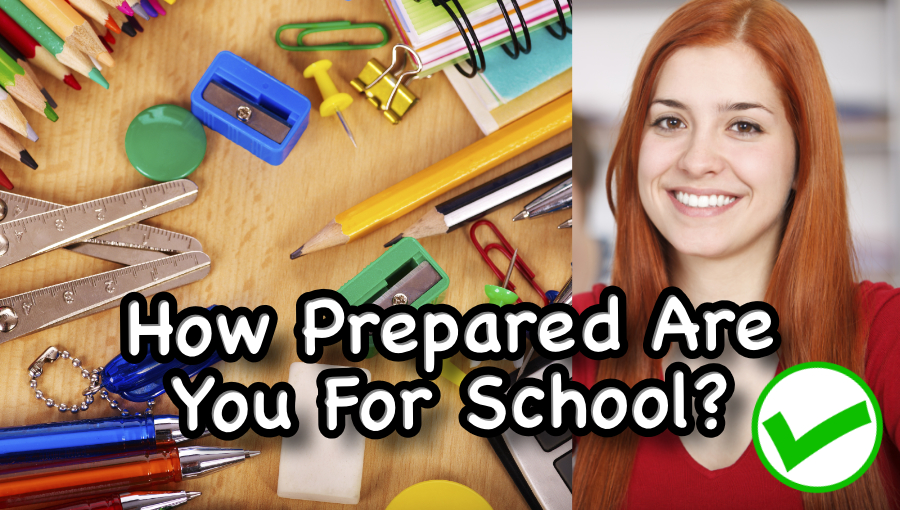 How Prepared Are You For School? (Compared to Other FHCIStudents)