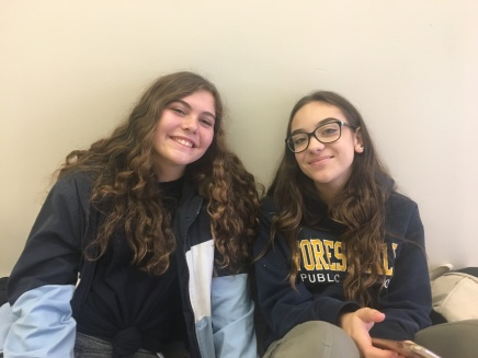 Humans of FHCI – Laureta Mrizi and Maya Saltzman